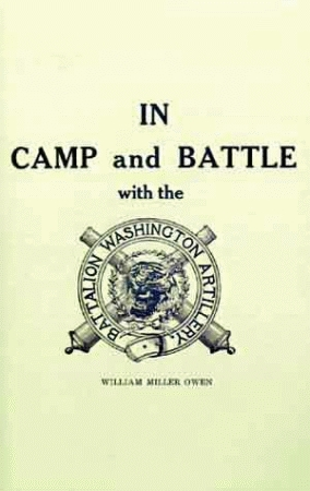 IN CAMP AND BATTLE WITH THE WASHINGTON ARTILLERY