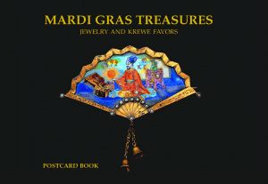 MARDI GRAS TREASURES: Jewelry of the Golden Age Postcard Book