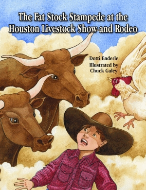 FAT STOCK STAMPEDE AT THE HOUSTON LIVESTOCK SHOW AND RODEO, THE