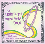 The Little Purple Mardi Gras Bead