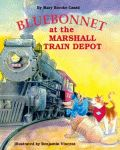 BLUEBONNET AT THE MARSHALL TRAIN DEPOT