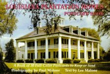 LOUISIANA PLANTATION HOMES POSTCARD BOOK