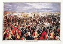 HIGHLAND CHARGE AT DRUMMOSSIE MUIR PRINT, THE