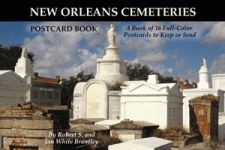 NEW ORLEANS CEMETERIES POSTCARD BOOK